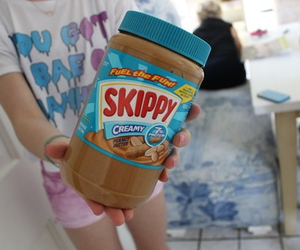 peanut butter, tumblr, and skippy image