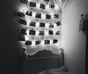 bedroom, beds, and blackandwhite image