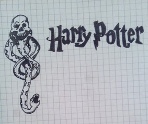 potter, voldemort, and herry potter image