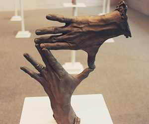 hands, museum, and national gallery of art image