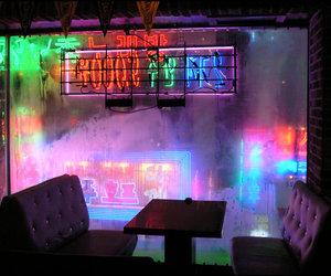 neon, light, and grunge image