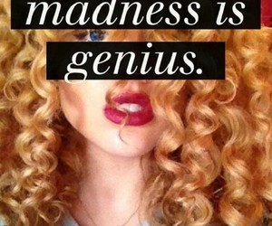 crazy, curls, and genius image