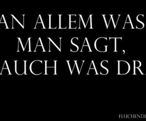 deutsch, wahrheit, and spruch image