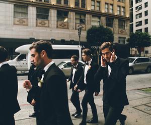 boy, men, and suit image