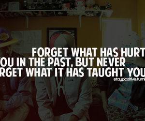 forget, quotes, and hurt image