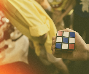 photography and rubik's cube image