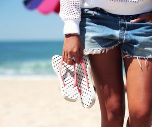 beach, outfit, and sexy image
