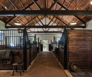 stable, barn, and equestrian image