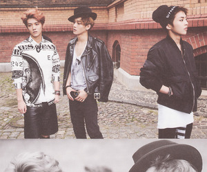 exo, Chen, and luhan image