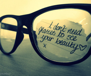 glasses, beauty, and quotes image