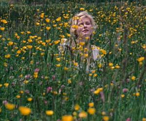flowers, marie antoinette, and Kirsten Dunst image