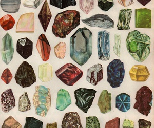stone, crystal, and rock image
