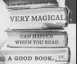 books, magical, and quote image
