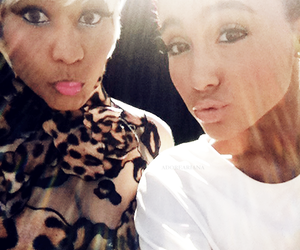 ariana grande and nicki minaj image