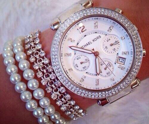 watch, Michael Kors, and jewelry image