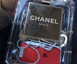 chanel, ipod, and paris image