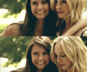 the vampire diaries, Nina Dobrev, and candice accola image