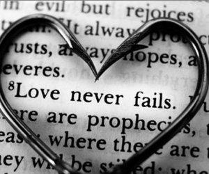 love, heart, and fail image