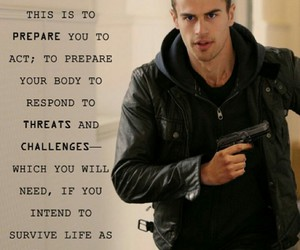 brave, divergent, and four image