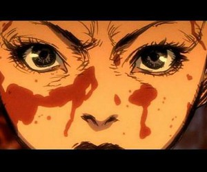 kill bill, anime, and blood image