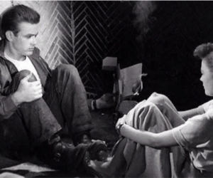50's, james dean, and rebel without a cause image