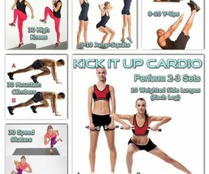 cardio, etc, and workout image