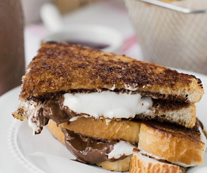 food, nutella, and smores image