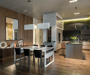 home and interior, glass coffee table, and interesting aspects image