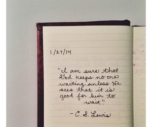 god, quote, and c.s. lewis image