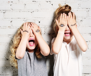 children, siblings, and funny image