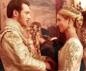 couple, henry viii, and king image