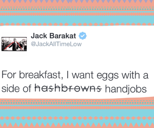 all time low, jack barakat, and tweet image
