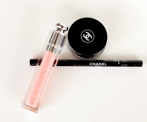 chanel, makeup, and pink image