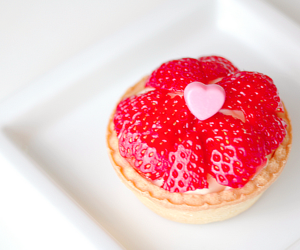 strawberry, food, and sweet image