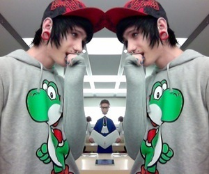 boy, piercing, and yoshi image