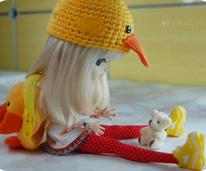 doll, bjd, and duck image