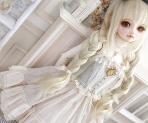 alice, wonderland, and bjd doll image