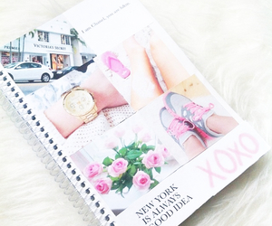 notebook, girly, and photo image