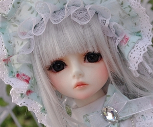 bjd, doll, and lolita image