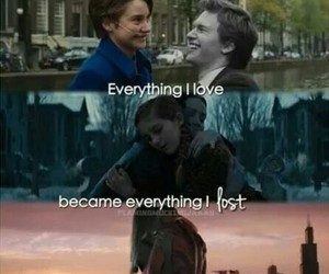 divergent, the fault in our stars, and the hunger games image