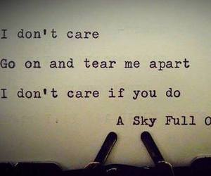quote, coldplay, and Lyrics image