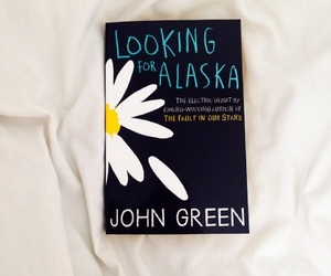 john green, book, and looking for alaska image