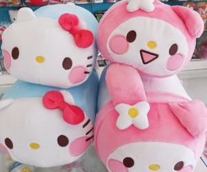 cute, hello kitty, and kawaii image