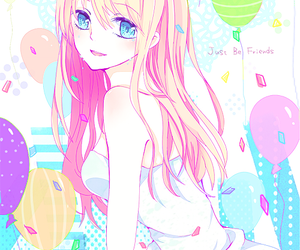 vocaloid, just be friends, and megurine luka image
