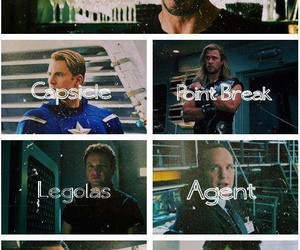 tony stark, Avengers, and captain america image