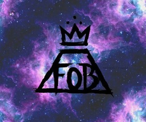 fall out boy, FOB, and galaxy image