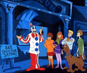 scooby-doo, cartoon, and clown image