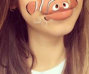 art, lips, and funny image