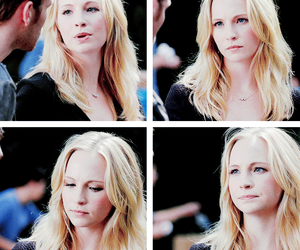 candice accola, caroline forbes, and blonde image
