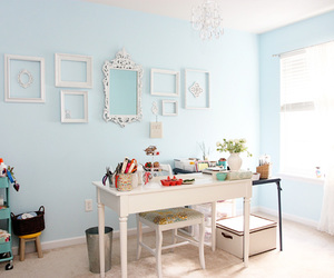 blue, decoracao, and home image